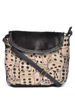 CottnCurls Sling Bag, Dices