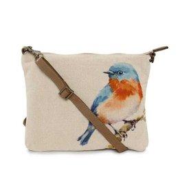 CottnCurls Sling Bag, Blue Bird