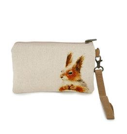 CottnCurls Wristlet, Squirrel