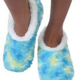 Snoozies Tie Dye Slippers, Medium
