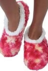 Snoozies Tie Dye Slippers, Large