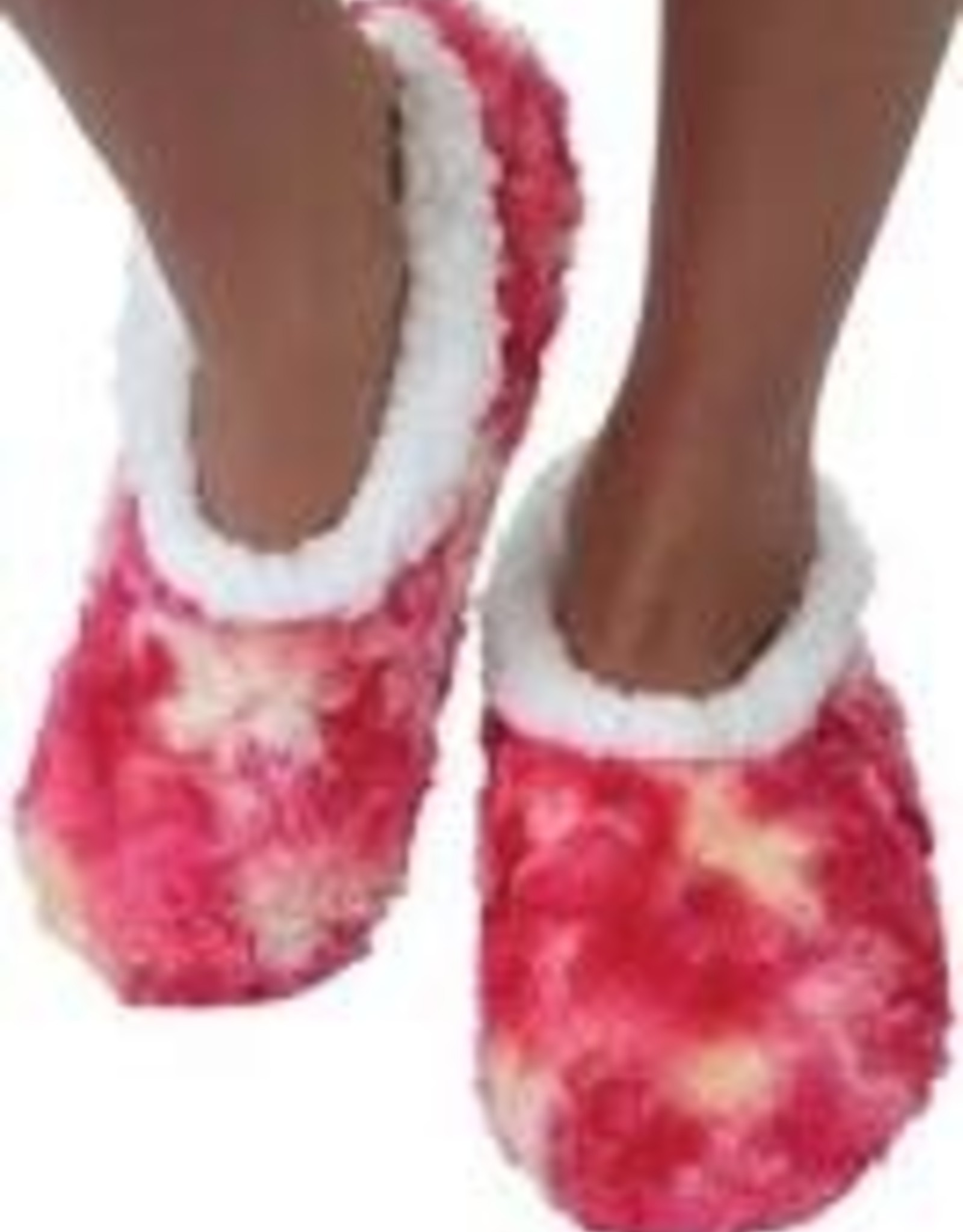 Snoozies Tie Dye Slippers, Small