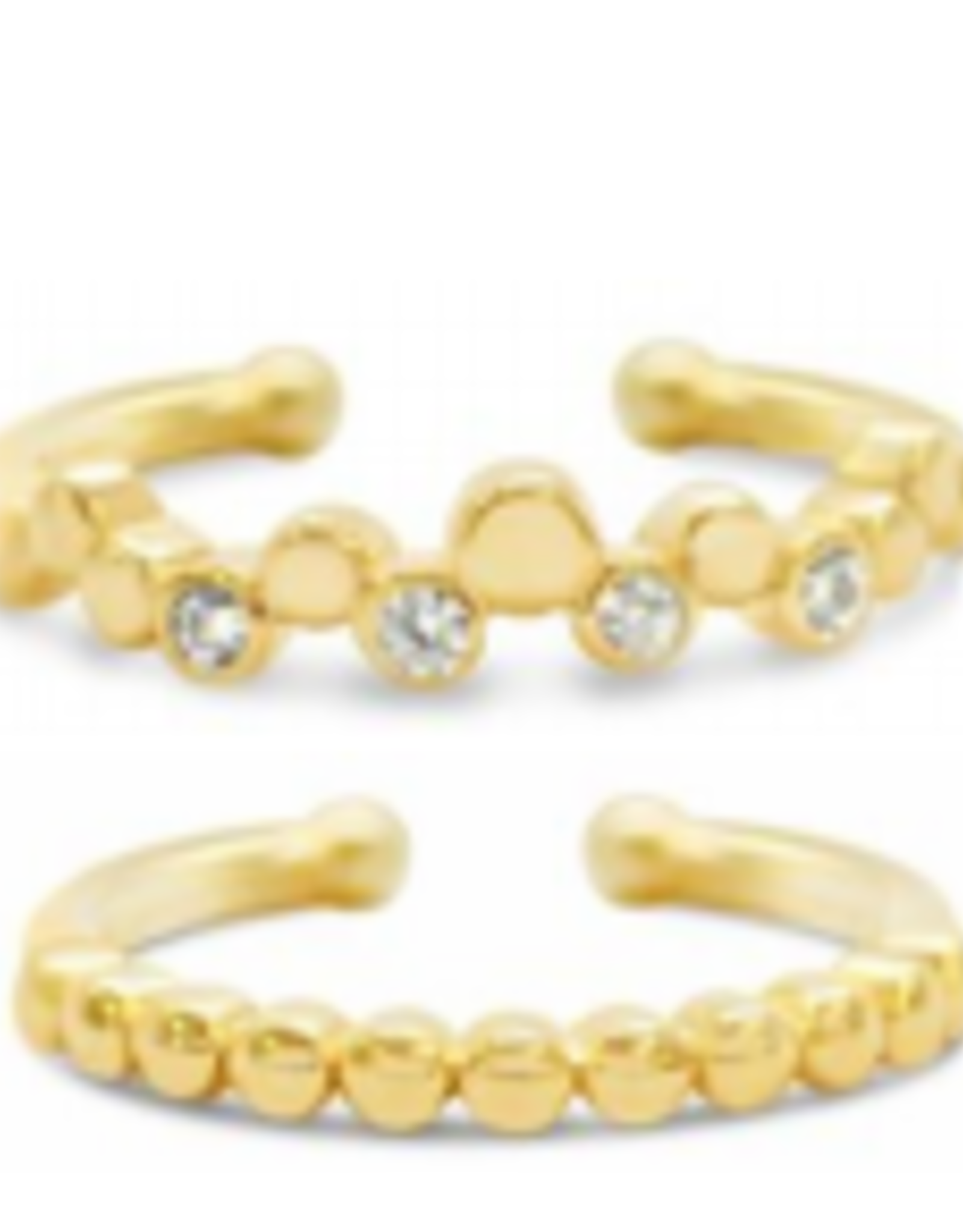 Stia Jewelry Stacking Rings, Simple Gold