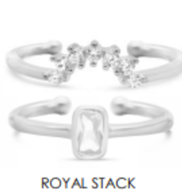 Stia Jewelry Stacking Rings, Royal