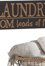 GiftCraft Laundry Room Sign