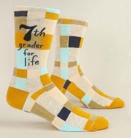 Blue Q Socks, 7th Grader for Life