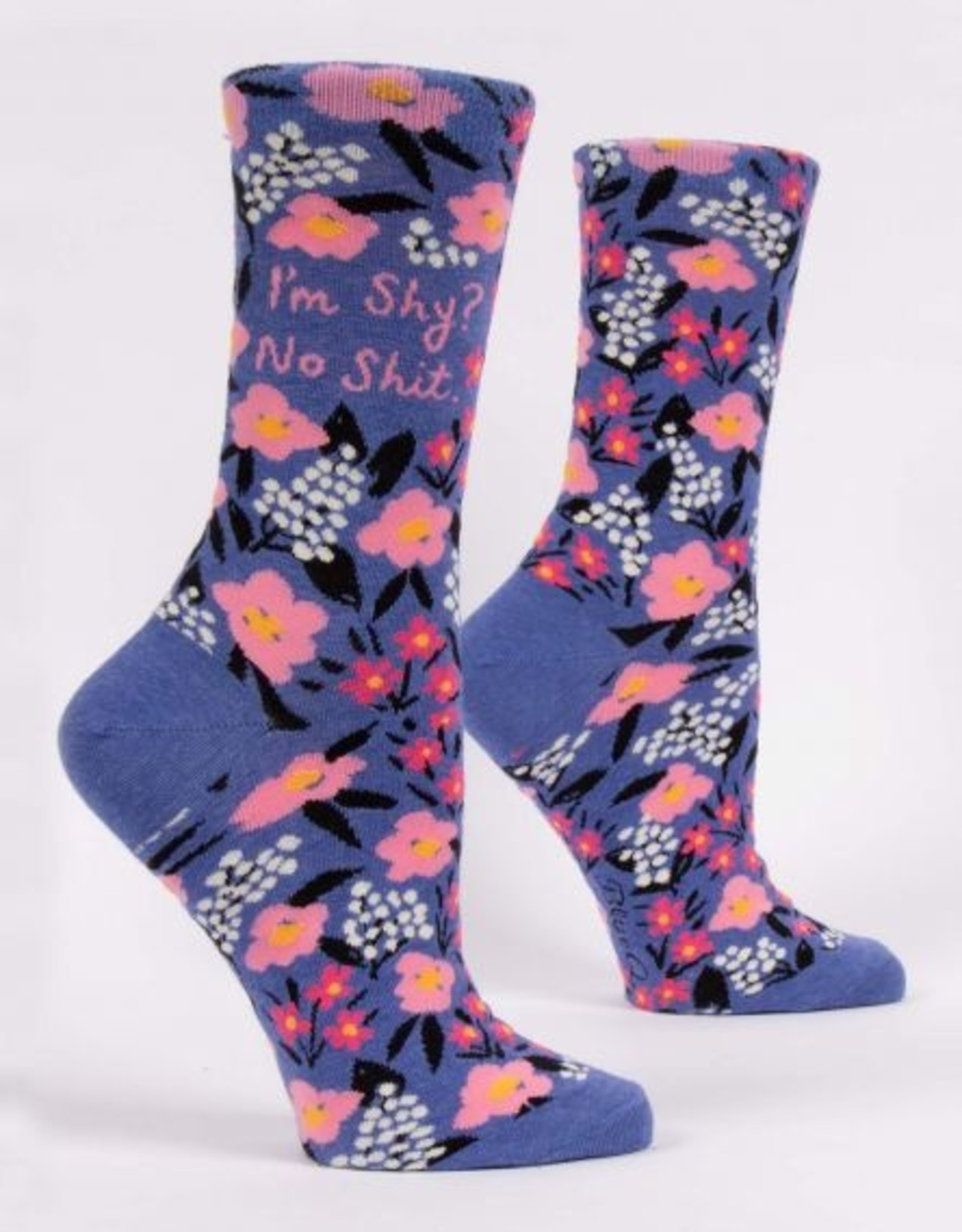 Blue Q Socks, I'm Shy. No Sh!t