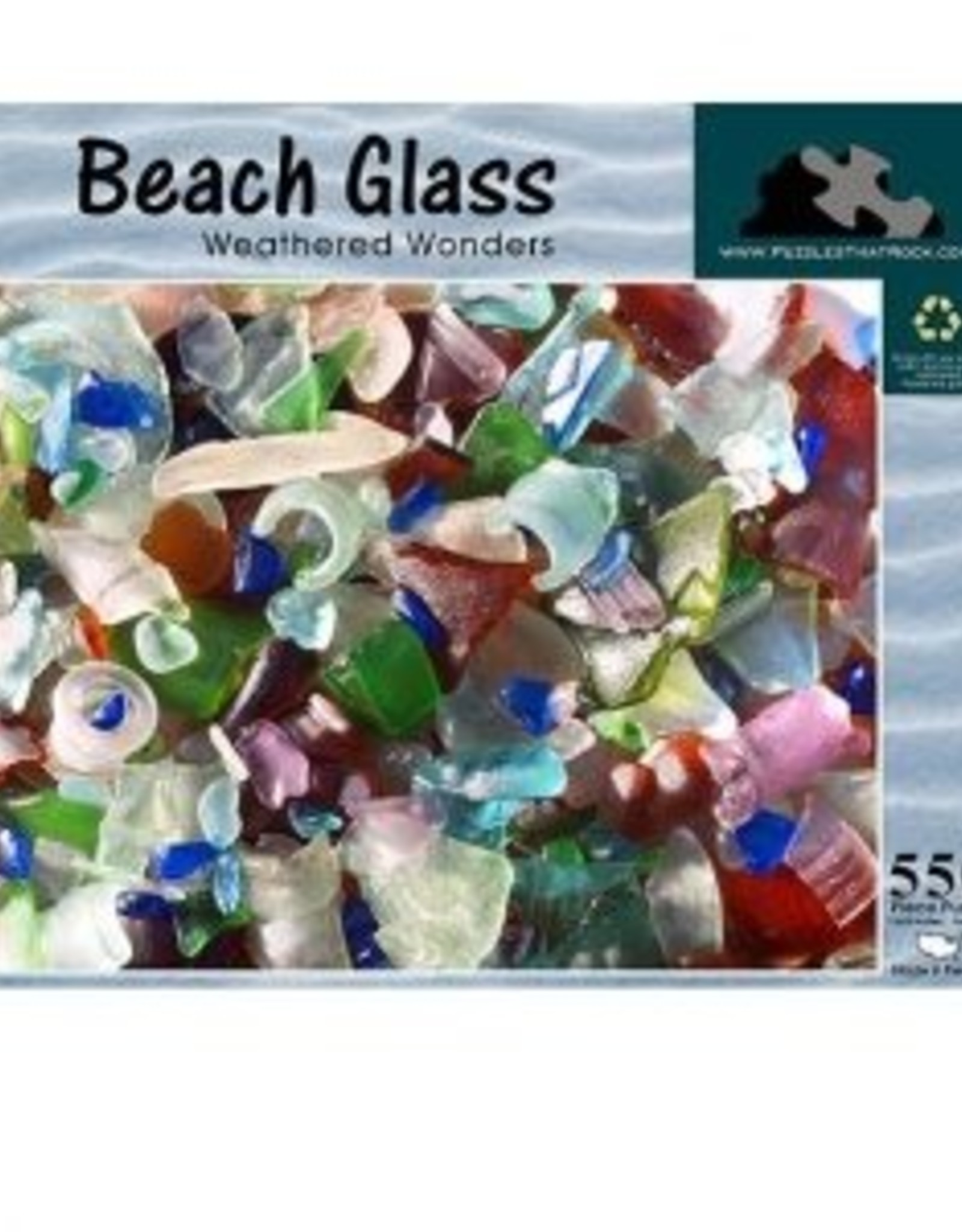 Puzzles That Rock Puzzle, Beach Glass