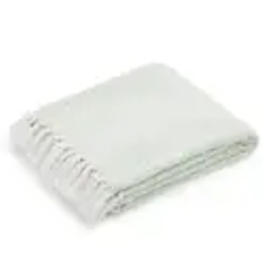 Americanflat Home Throw Blanket, Sea Foam Green Diamond