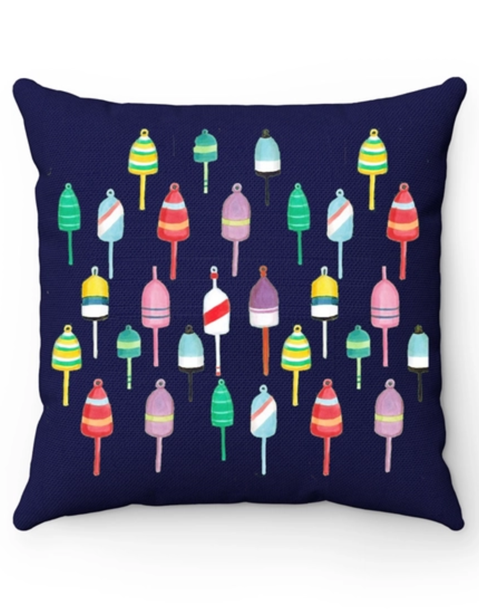 Peachy Pendants Pillow, Buoys