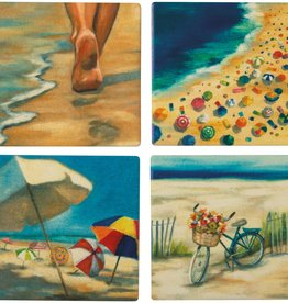 Coaster Set, Beach