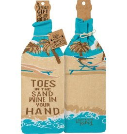 Bottle Cover, Toes In Sand