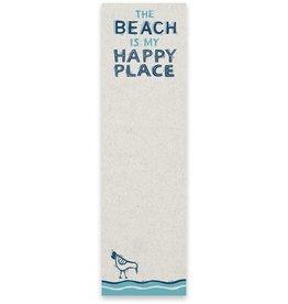 List Notepad - The Beach