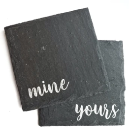 Cheers Ink. Slate Coaster, Yours