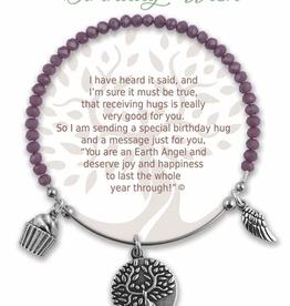 Earth Angel Bracelet, Birthday Wish
