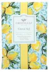 Greenleaf Large Sachet, Citron Sol