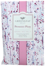 Greenleaf Large Sachet, Prosecco Plum