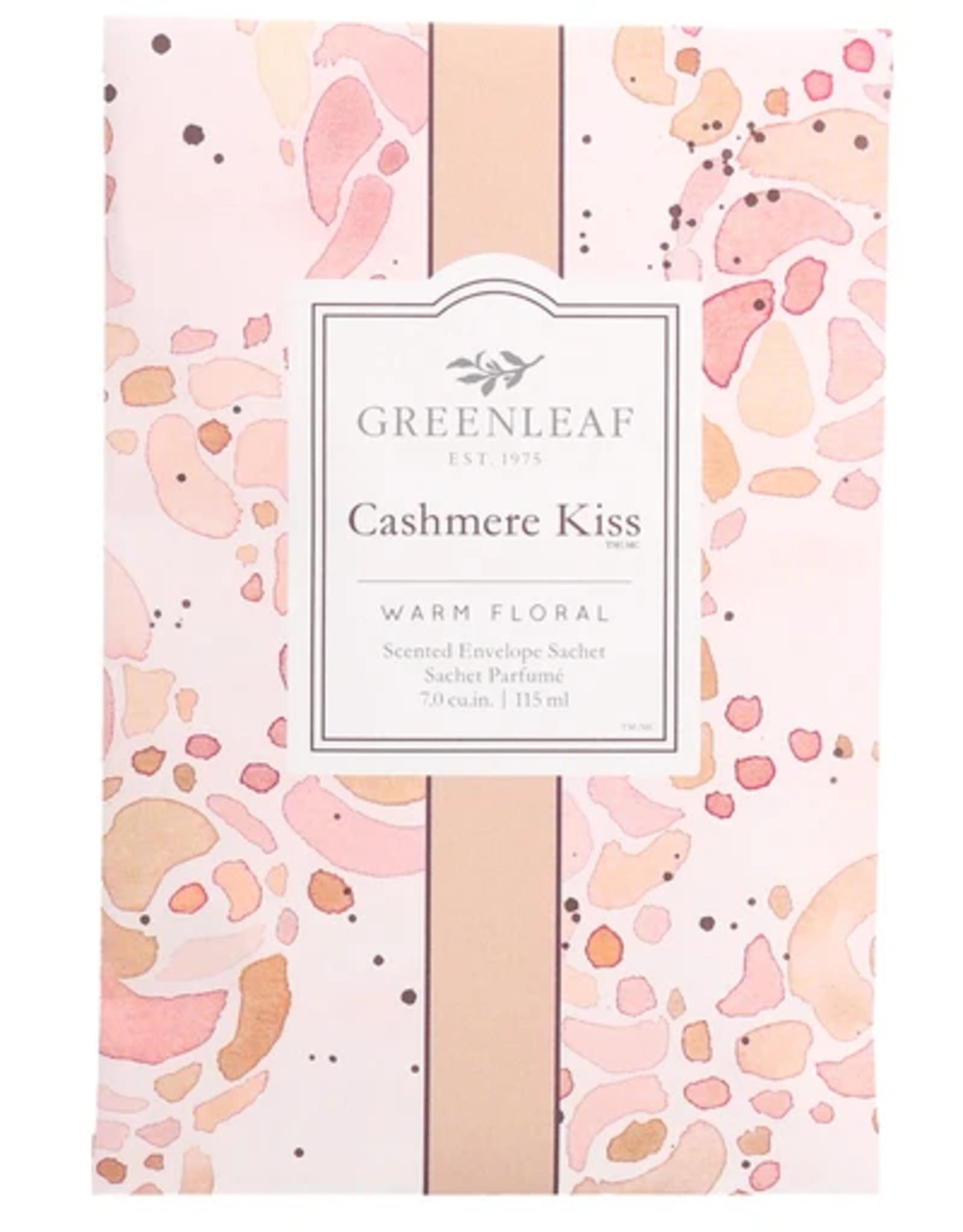 Greenleaf Large Sachet, Cashmere Kiss