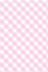 Birchwood Trading Co. Scented Drawer Liners,  Pink  Gingham