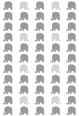 Birchwood Trading Co. Scented Drawer Liners, Elephant