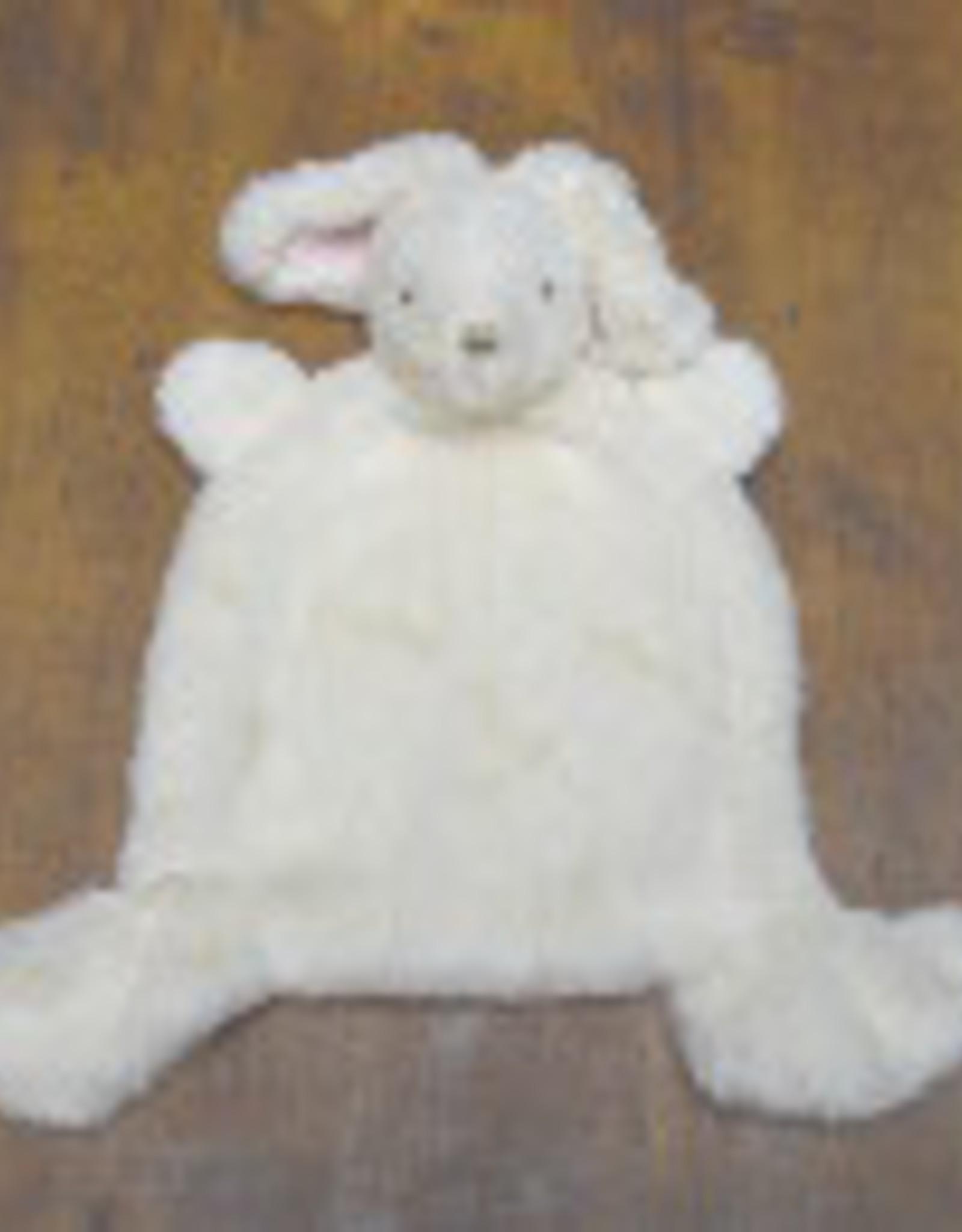 Birchwood Trading Co. Flat Nummy Bunny, White