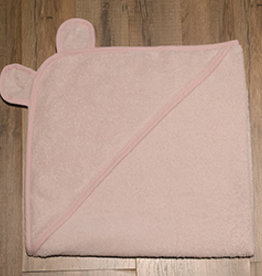 Birchwood Trading Co. Baby Hooded Towel, Pink