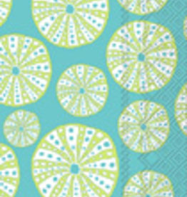 Boston International Guest Towel, Turquoise Urchin