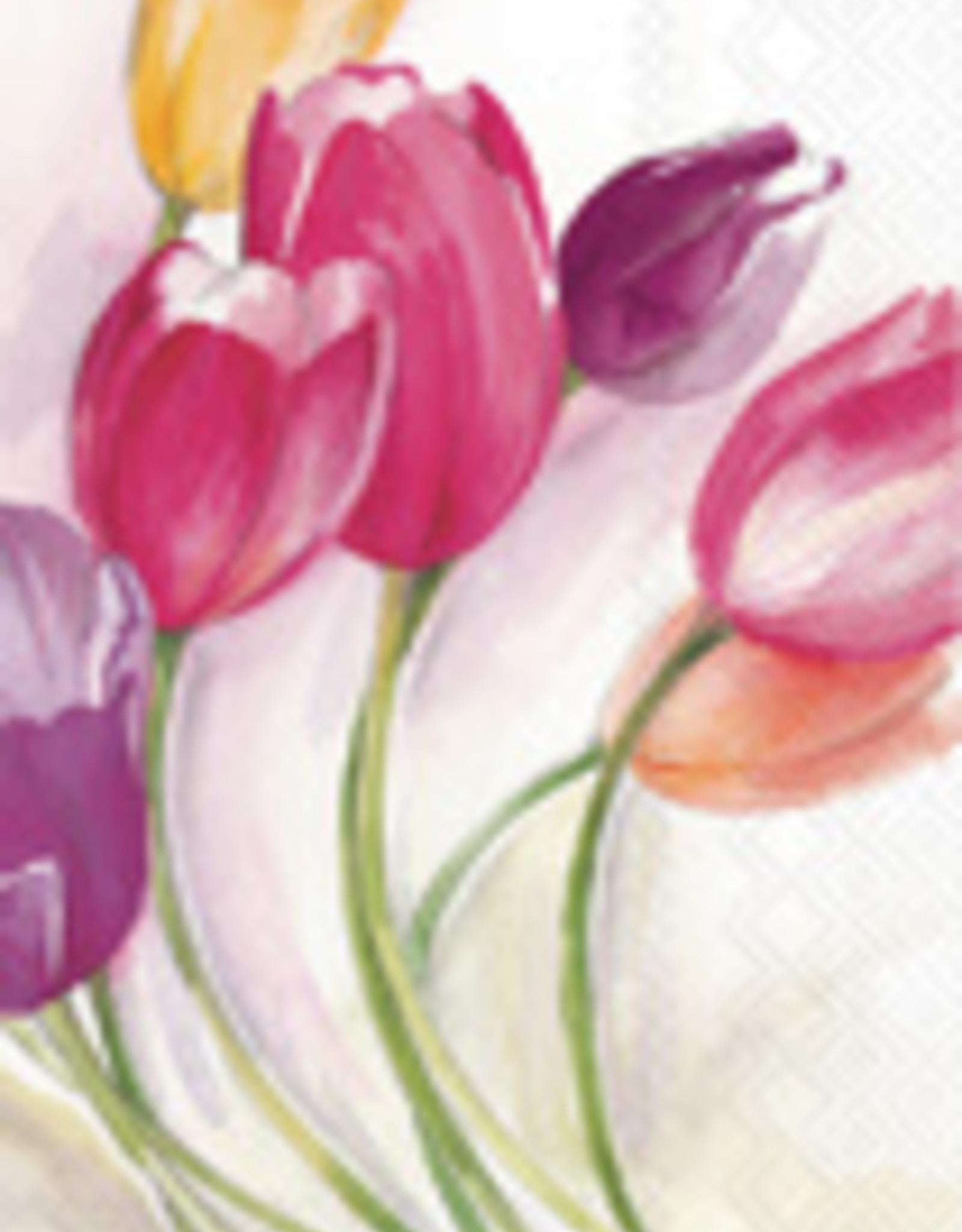 Boston International Guest Towel, Tulip Season