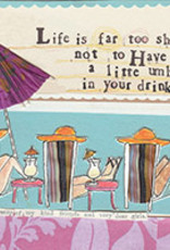 Boston International Cocktail Napkin, Little Umbrella