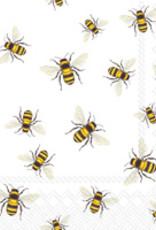 Boston International Cocktail Napkin, Save The Bees
