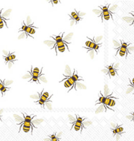 Boston International Cocktail Napkin, Save The Bees