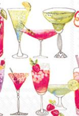Boston International Cocktail Napkin, Sweet Cocktails