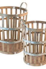 Boston International Bamboo Basket, Large