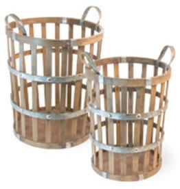 Boston International Bamboo Basket, Medium