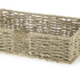 Boston International Guest Napkin Holder, Seagrass