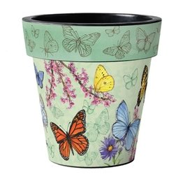 Studio M Planter, Butterfly 18""