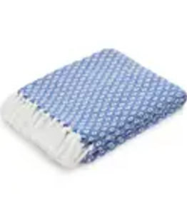 Americanflat Home Throw Blanket, Blue Diamond