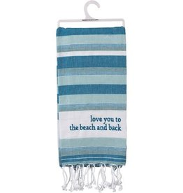 Dish Towel - Beach And Back