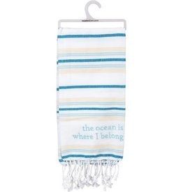 Dish Towel - The Ocean Is Where I Belong