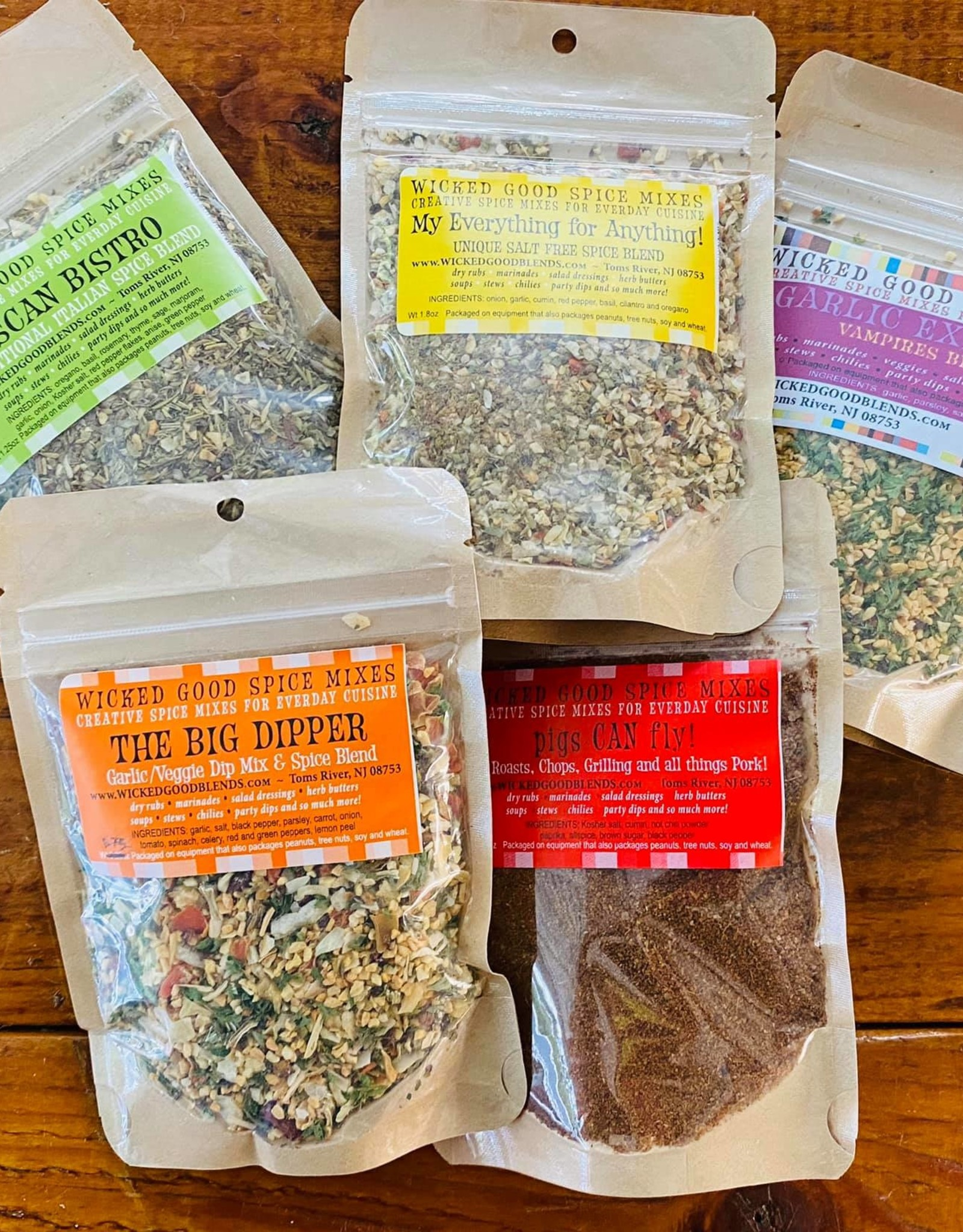 Wicked Good Spice Blends Spice Blend, Garlic Explosion