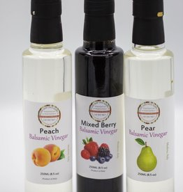 Wicked Good Spice Blends Balsamic Vinegar, Peach