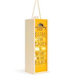 Lantern/Wine Box, Sun & Sand