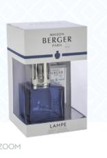Maison Berger Lampe, Blue Cube w/Ocean Breeze