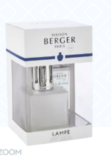 Maison Berger Lampe, Frosted Cube w/Ocean Breeze