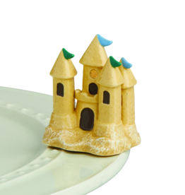 Nora Fleming Sand Castle - St Jude, Mini