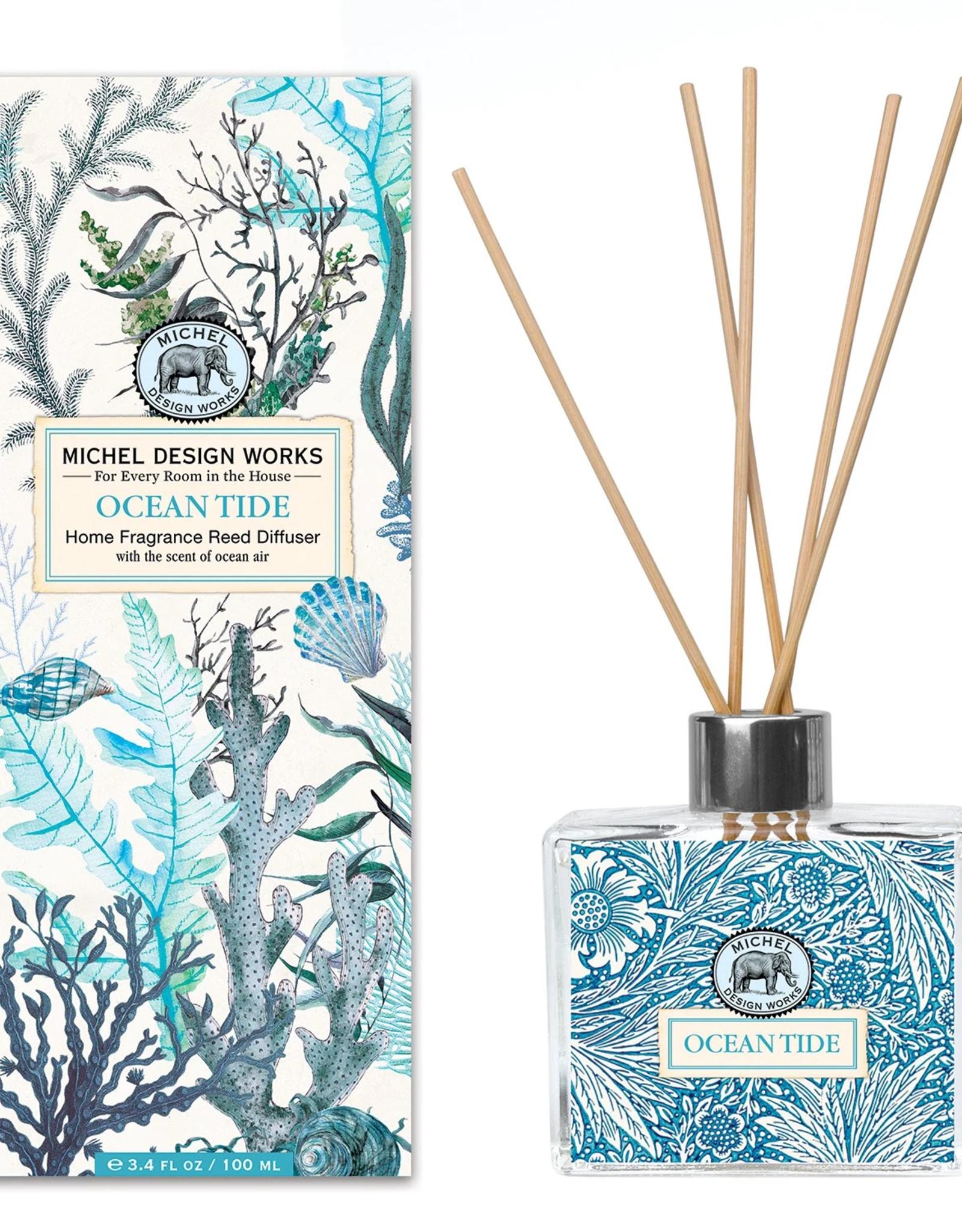 MichelDesign Works Reed Diffuser, Ocean Tide