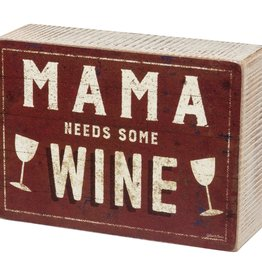 Box Sign - Mama Wine