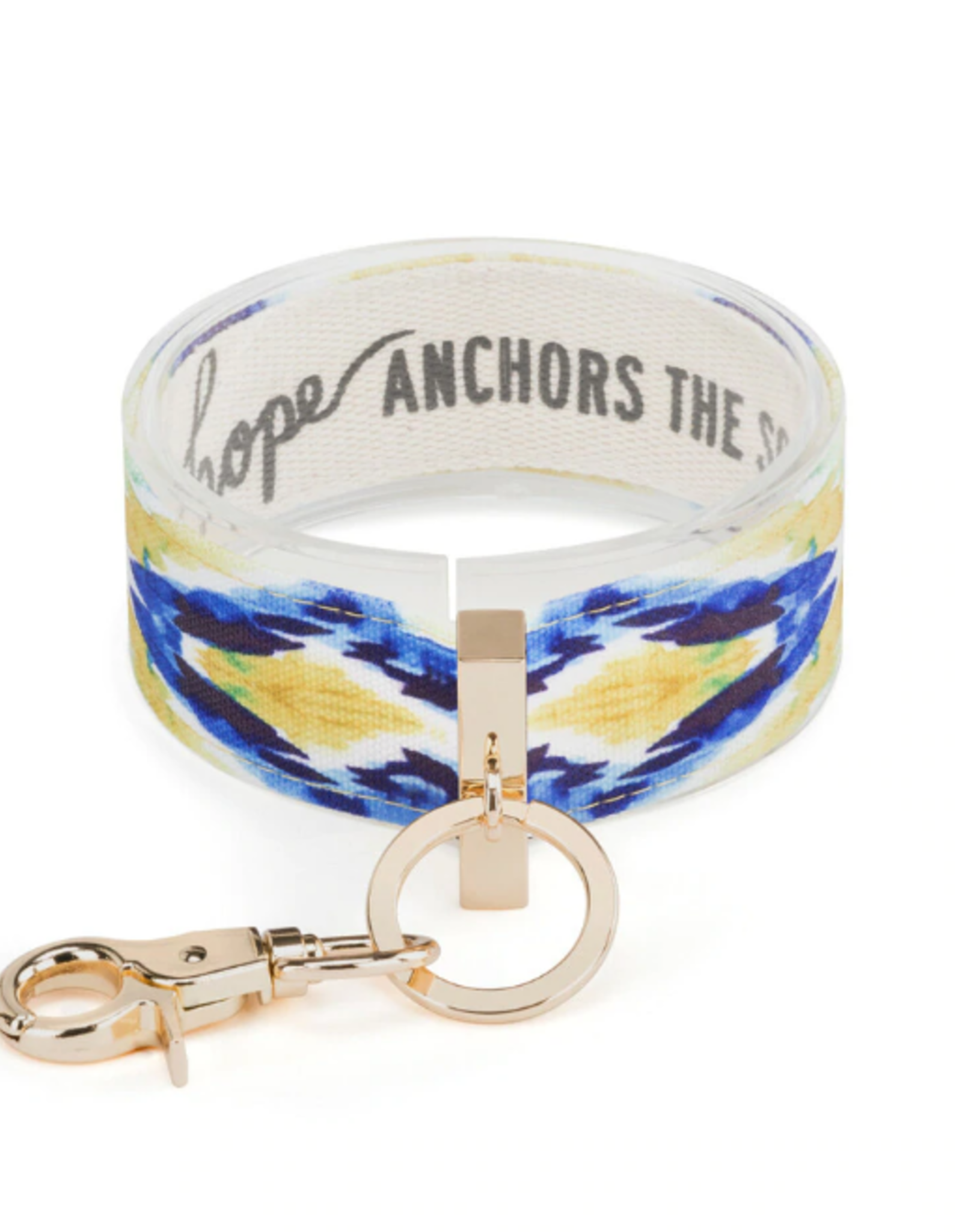 Wrist Strap Key Chain, Hope Anchors the Soul