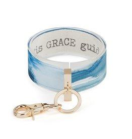 Wrist Strap Key Chain, His Grace Guides Me