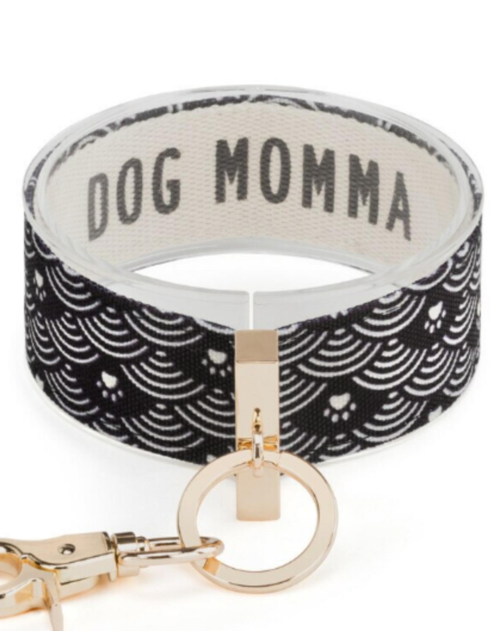 Wrist Strap Key Chain, Dog Momma